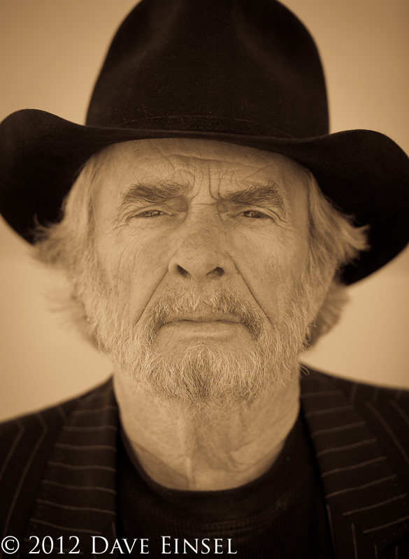 Post image for Portraits of Country Music Legend Merle Haggard.