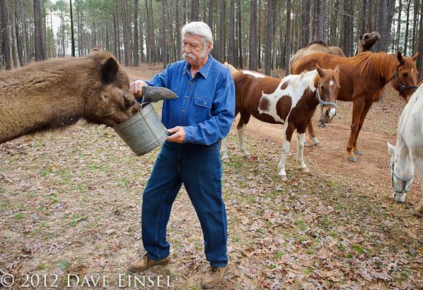 Houston Photographer Dave Einsel Photographs Bela Karolyi
